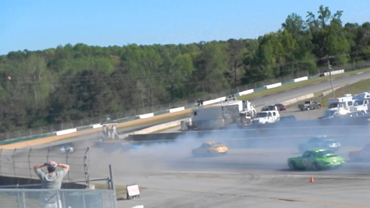 Road Atlanta Crash Road Atlanta 2014 Walter Mitty