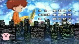 Digimon Adventure Ending 1 ( Español Latino )  [Alta Calidad]