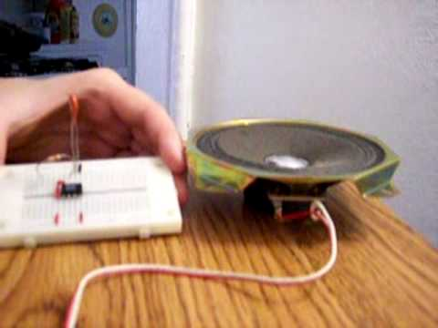 555 Timer With a Speaker
