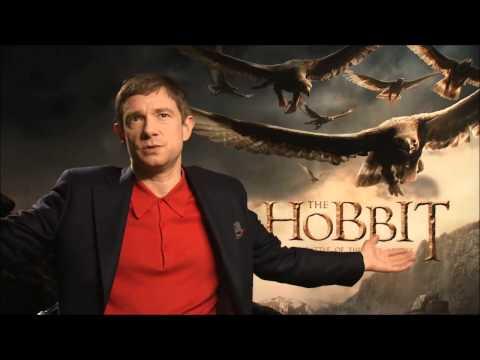 Martin Freeman The Hobbit: Battle of the Five Armies Press Junket