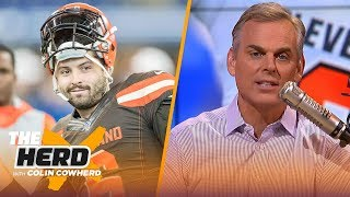 Colin talks Baker's Daniel Jones comments, isn't worried about Jimmy G, talks AB | NFL | THE HERD