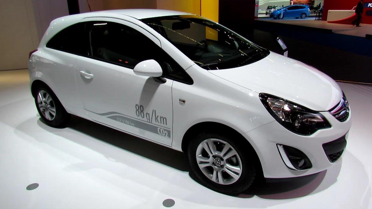 2014 Opel Corsa Diesel EcoFlex - Exterior and Interior ...