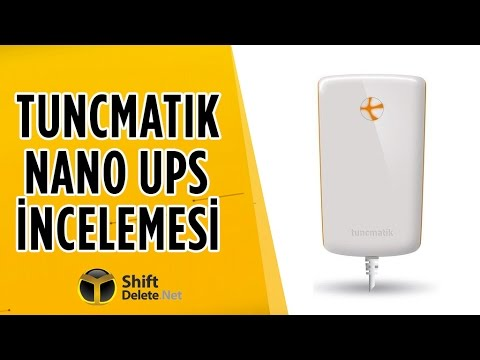 Tunçmatik Nano UPS inceleme - Modemi elektrik kesilse de çalıştırıyor!
