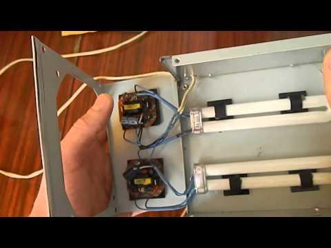 УФ - сушилка своими руками. UV Lamp DIY - Vtpak.com