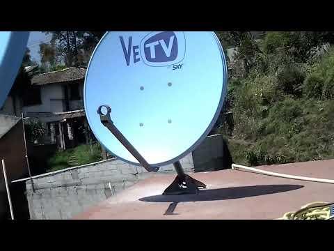 Instalacion de antenas de sky