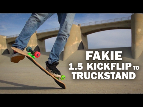 Fakie 1.5 Kickflip to Truckstand: Sto Strouss || ShortSided