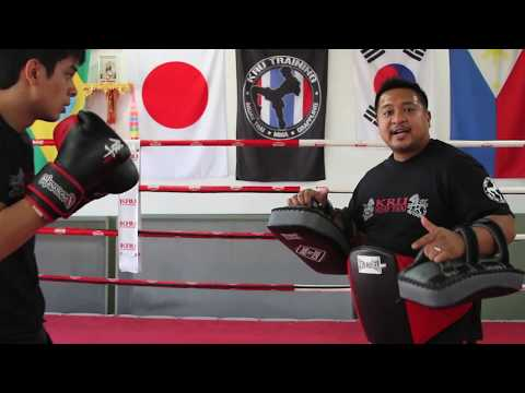 KRU Muay Thai Tip of the Week - Basic Thai Pad Holding Pt. 1 Image 1