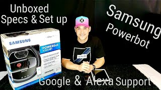 SAMSUNG Powerbot Robotic Vacuum R7040????Honest Thoughts Unboxing & Step by Step Set Up Should you buy?