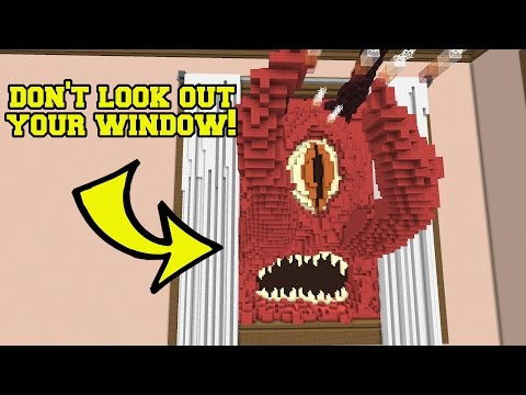 Minecraft: SCARY MONSTERS HUNGER GAMES - Lucky Block Mod - Modded Mini-Game