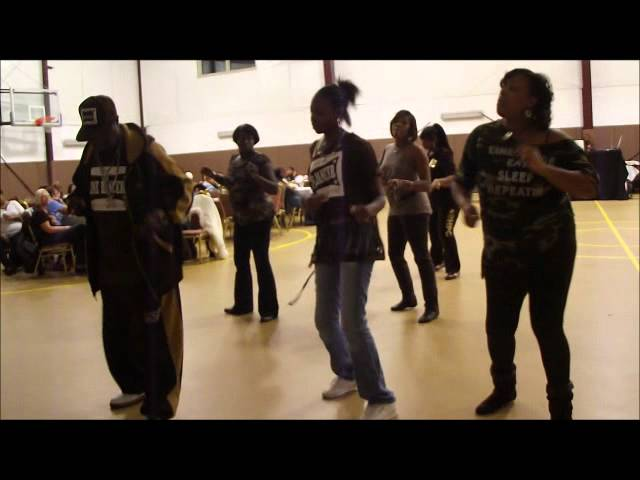 YANI'S SWAG and LOVE ON TOP - Line Dance Made Easy 11-11-11.wmv