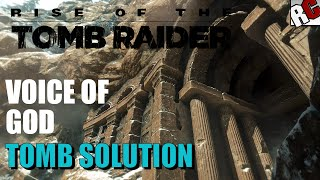 Rise of the Tomb Raider | VOICE OF GOD Tomb Walkthrough