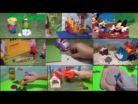 MICKEY MOUSE CLUBHOUSE Disney Junior Mickey the Marshmallow Chocolate Smore Adventure + Pluto