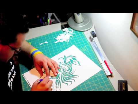 Cut Paper Stop-Motion - Matt Hill Art