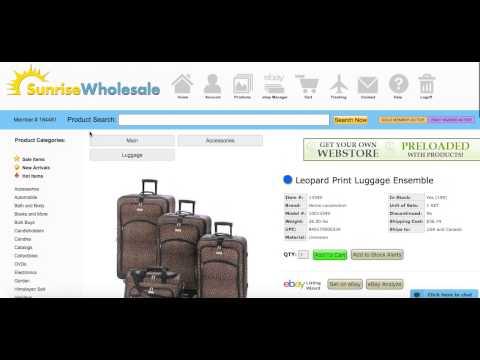 Sunrise Wholesale Merchandise – Overview/Review