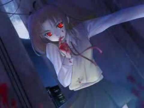 gothic vampire bloody girl - photo #34