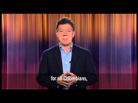 Colombia President Santos on the Significance of the Manizales Más Project