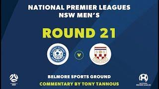 NPL NSW, Round 21, Sydney Olympic FC v Sydney United 58 FC NPLNSW