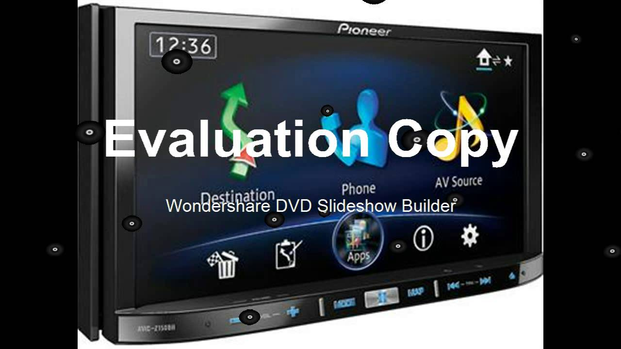Pioneer car radio gps