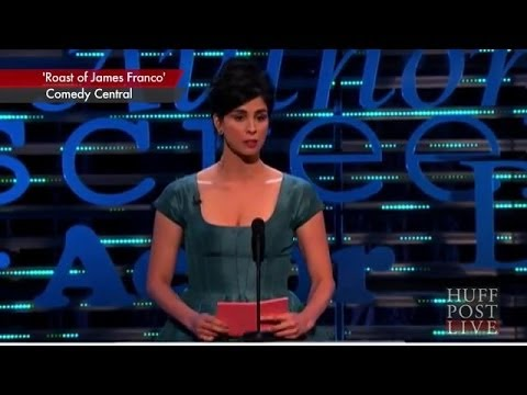 Sarah Silverman s Exchange With Jonah Hill At James Franco Roast