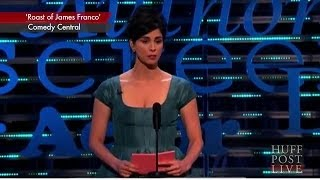 Sarah Silverman's Exchange With Jonah Hill At James Franco Roast