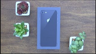 Unboxing iPhone 8 realmente no mucha diferencia :(