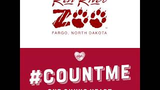 Red River Zoo LIVE! - This Giving Hearts Day!