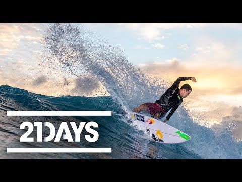 De Souza vs Young - 21 Days - Red Bull Surfing - Part (1/3)