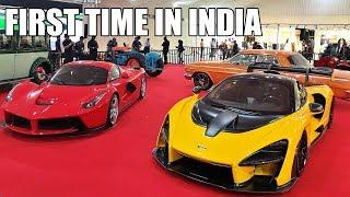 Most Expensive Cars in INDIA 2019 - LaFerrari & McLaren Senna