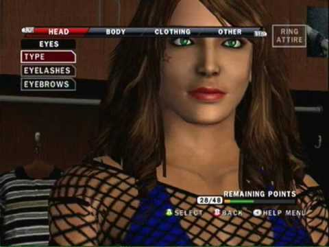 WWE Smackdown Vs Raw 2010 CAW Jessica Mendoza Entrance,Signatures,Finishers
