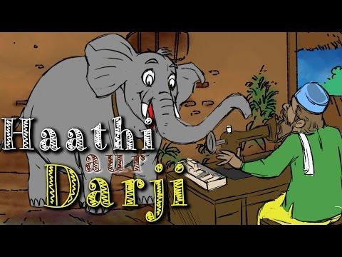 Haathi Aur Darji  | Kilkariyan | Hindi Stories For Kids | Bedtime Children Stories | Kids Stories video