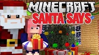 Santa Says Christmas Minecraft Minigame