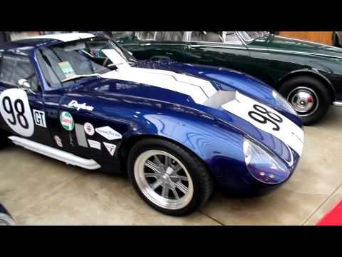 the perfect supercar replica Shelby Cobra Daytona Coupe by Factory Five Racing