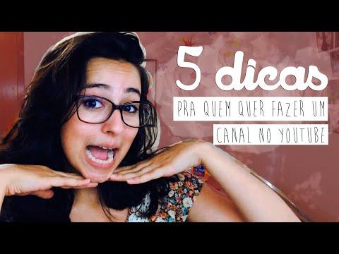 5 DICAS PARA QUEM QUER COMEÇAR UM CANAL no Youtube thumbnail