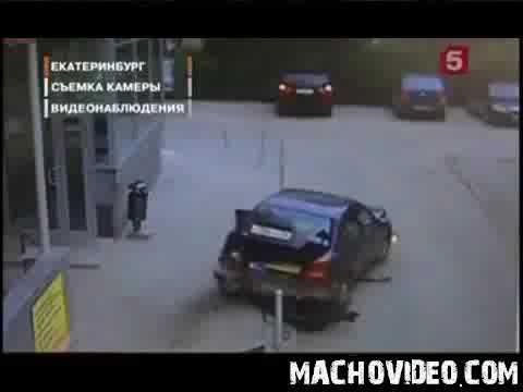 Разбил машину в хлам