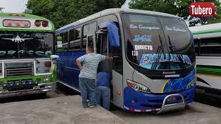 Teminal de Buses super especiales y ordinario oriente San Salvador El salvador Youtubero Salvadoreño