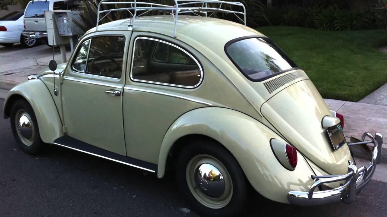 1965 Volkswagen Beetle 6 Volt Youtube