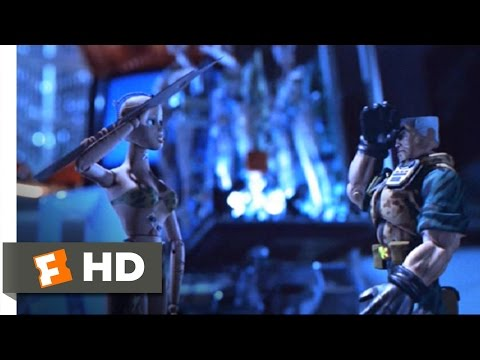 Small Soldiers movie clips: http://j.mp/1uu4q4J BUY THE MOVIE: http://amzn.to/yUCGQx Don't miss the HOTTEST NEW TRAILERS: http://bit.ly/1u2y6pr CLIP DESCRIPT...