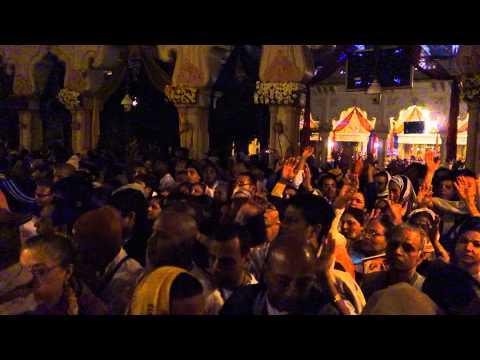 Mangala Arati At Krishna Balaram During Kartik, Vrindavan 2013. video