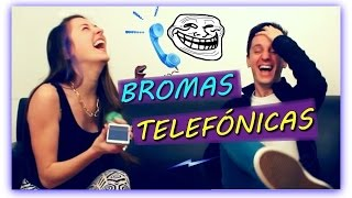 BROMAS TELEFÓNICAS A YOUTUBERS | Ft Zepfilms Y Rex