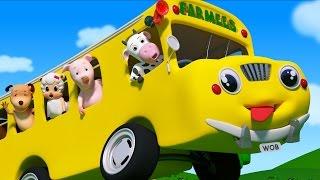 Wheels On The Bus | Nursery Rhymes For Toddlers | Preschool by Farmees
