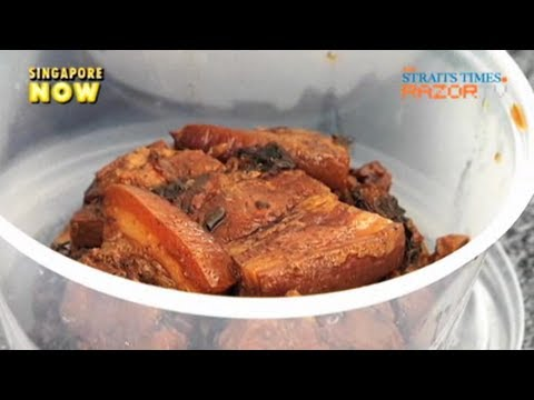 Famous Hakka pork belly (S'pore Food Festival 2010 Pt 6)