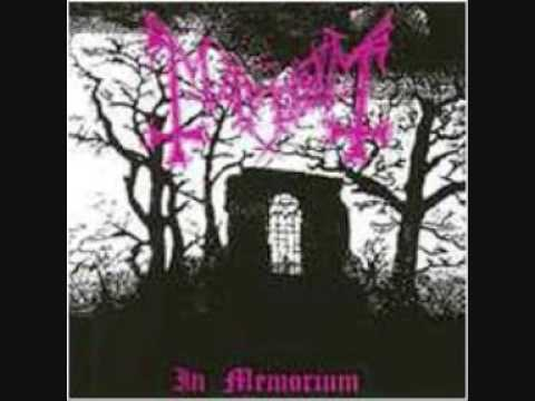 Mayhem - Funeral Fog Earliest Norwegian Black Metal recording...