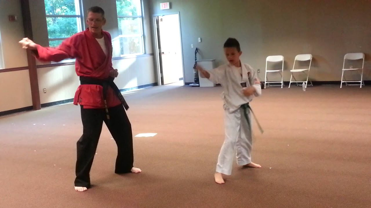 Testing For Purple Belt in