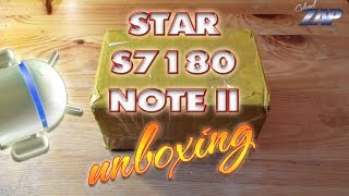 Star S7180 Note 2 Unboxing - MT6577 - dual-core - dual-standby - Merimobiles.com - ColonelZap