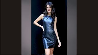 Elegant Faux Leather Dresses This Year