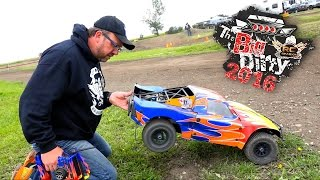 RC ADVENTURES - BiG DiRTY 2016 - PT 4: TROPHY RACE - 2WD HPi BAJA - 1/5 Scale Offroad Racing Event