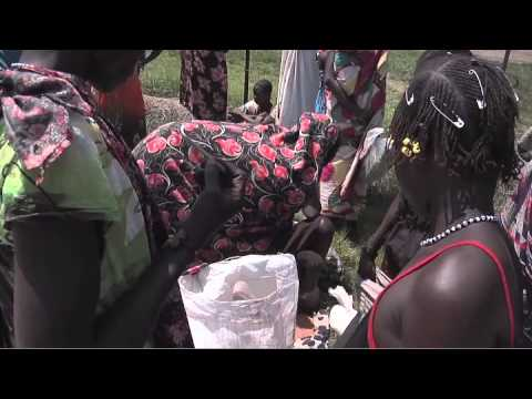 FOOD DISTRIBUTION in SOUTH SUDAN: WFP & UNMISS