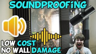 How To Soundproof Your Walls With No Damage For Low Cost