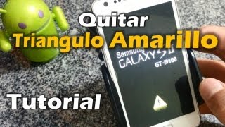 [Tutorial] Quitar triangulo amarillo y cerar contadores de flasheo Android