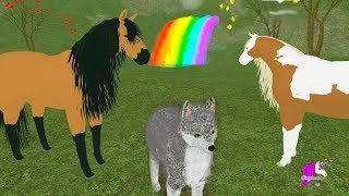 Limping Spirit - Lets Play Roblox Horse Heart + Wolf + Dragon Egg Game